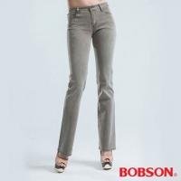 (BOBSON)[BOBSON] hipster bidirectional yarns stretching small bell-bottoms (dark green 933-41)