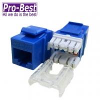 (PRO-BEST)IT PRO BEST Cat.6 socket 180 (blue)