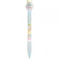 小禮堂 角落生物 貓咪 日製 造型自動鉛筆 造型筆 自動筆 0.5mm (藍粉 玩偶車)