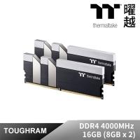 (thermaltake)Thermaltake TOUGHRAM Memory Black DDR4 4000MHz 16GB Black (8GB x 2)