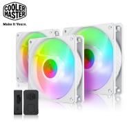 (酷碼)Cooler Master SickleFlow 120 ARGB White Edition 3 in 1 set