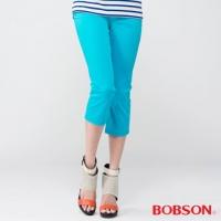 (BOBSON)[BOBSON] female models diamond embroidery Pants (Blue 212-50)