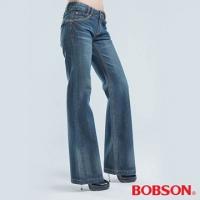 (BOBSON)[] BOBSON tube female models wide bell-bottoms (blue 9051-53)