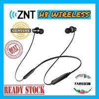 ZNT H8 TRUE WIRELESS BLUETOOTH EARPHONE AROUND NECK HEADSET JOGGING EARPHONE NECK EARPHONE EARBUDS EARPODS AIRPODS