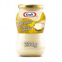 Kraft Cheddar Cheese Spread Original, Kraft Cheddar Cheese Spread Original, 230g, جبنة كرافت تشدر قابلة للدهن الاصلية.