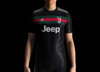 Juventus x Gucci 3rd Black 20/21 Concept Shirt By SETTPACE