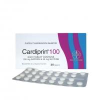 Cardiprin 100mg (30's)EXP 02/2020 (1 strip)