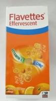 Flavettes Effervescent Vitamin C + Zinc (15s x 2) EXP 05/2022
