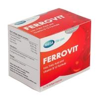 MEGA WE CARE FERROVIT 5 X10'S EXP 06/2022