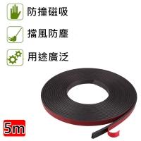 Anti-collision door seam magnet strip 5m