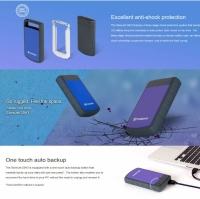 Transcend StoreJet 25H3 External Portable Hard Drive (1TB / 2TB / 4TB)
