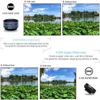Apexel 7 in 1 mobile phone Lens Kit (APL-DG7) for Apple huawei oppo vivo xiaomi