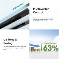 Haier HSU-24VNR18 2.5HP Smart Clean Expert Inverter Air Conditioner with R32 Refrigerant