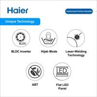 Haier HWM70-FD10829 7KG Inverter Front Load Washing Machine Mesin Basuh