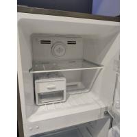 Haier 2 Door 249L Twin Inverter Refrigerator Fridge Peti Ais - Navy Blue Glass HRF-278IHG / Silver Metal HRF-278IHM