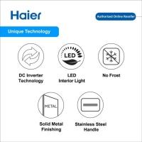 Haier 448L 2 Door DC Inverter Refrigerator Fridge Peti Sejuk HRF-IV498H