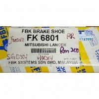 FBK Rear Brake Shoes (FK6801) for Proton Juara, Mitsubishi Lancer
