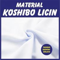 BAJU MELAYU LICIN PUTIH SEPASANG/ BAJU+SELUAR/ KAIN KOSHIBO/ JENAMA BERJAYA UNIFORMWEAR/ BAJU MELAYU COSHIBO