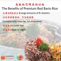 [LOHAS] Premium Red Bario Rice 高级红巴哩米 900g