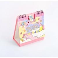 Cute Cartoon Hello Kitty Doraemon Stitch Minion Totoro Unicorn Desk Calendar 2021