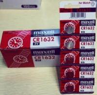 GENUINE MAXELL CR1632 LITHIUM BATTERY JAPAN x 2pcs