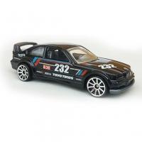 Hot Wheels Bmw E36 232 M3 Race Black Series Matte Rare collection die-cast 1/64 146/250