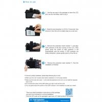 JJC GSP-XT10 Fujifilm XT10 Camera Screen Protector UV 9H
