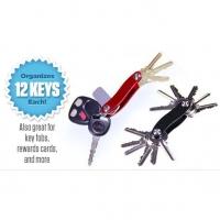🔥READY STOCK] TEMPAT SIMPAN KUNCI 12 SET MAX / Clever Key holds up to 12 keys/ ELAK SEMUA KUNCI HILANG
