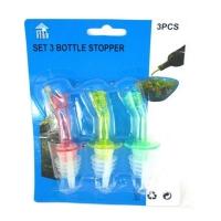 M'SIA STOCK] 3PCS/SET PENUTUP BOTOL Oil Bottle Pour Spot Stopper