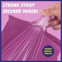 COURIER BAG PURPLE 100/50 PCS PER ROLL/ FLYER COURIER/ 快递袋/ MAILING BAG/ PLASTIC BAG/ COURIER MALAYSIA/ BEG PLASTIC KURI