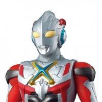 Bandai Ultraman Ultra Hero Series #35 ULTRAMAN X Soft Figure
