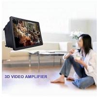 MALAYSIA SHP: 2 IN 1 (SCREEN PEMBESAR 3D + PEMEGANG PHONE) / 3D Video Amplifier Phone Screen Magnifier Expander Holder