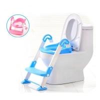 MALAYSIA O] 3 IN 1 KERUSI TANDAS CANGKUNG+ TANDAS DUDUK TIDAK TERGELINCIR/ Kids Toilet Seat Ladder Baby Toddler PottY