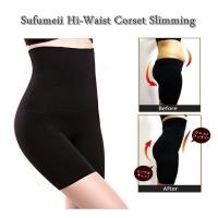 MALAYSIA- BEKUNG SELUAR DALAM TIDAK BERGULUNG / Hi-Waist Corset Slimming
