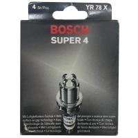 ORIGINAL BOSCH SUPER 4 SPARK PLUG YR78X PERODUA MYVI 1.3 ALZA/TOYOTA AVANZA