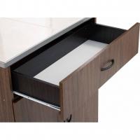 CrisHome - FREY Kitchen Cabinet H89cm [2Doors + 1 Drawer} ( Free Shipping to WM )