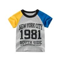 Kids T-shirt for 1-10 years old boys girls Short raglan sleeve printed baju kanak-kanak lelaki perempuan lengan raglan