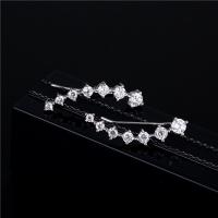 Female Fashion Minimalist Luxury Diamond Earrings
