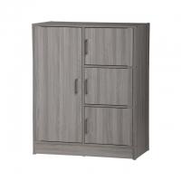 4 Doors Premium Wardrobe / High Quality Wardrobe / Multipurpose cabinet / File Cabinet /置物柜/ 柜子/ 衣橱/小孩衣柜
