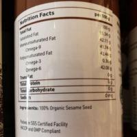 【Radiant】Organic Toasted Sesame Oil - 310ml