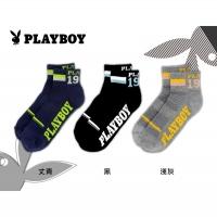 (PLAYBOY)PLAYBOY luminous street wind sports men socks