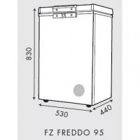Faber (80L) Chest Freezer Peti Ais/Peti Sejuk FZ FREDDO 95