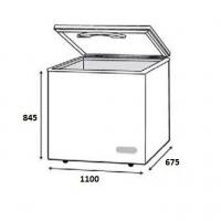 Faber (300L) Chest Freezer Peti Ais/Peti Sejuk FZ-F328(N)