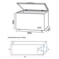 Faber (500L) Chest Freezer Peti Ais/Peti Sejuk FZ-F528(N)