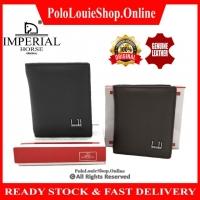 [NEW ARRIVAL]🔥Original Imperial Horse Genuine Leather Men Wallet Luxury Vertical Smart Card Dompet Kulit Betul