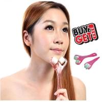 MALAYSIA: 2PCS/SET URUTAN MUKA BENTUK V SHAPE Facial Massager 2in1 (Buy 1 Get 1 Free)