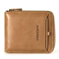 READY STOCK Men's Women Wallets Leather Purse Male Zipper Coin&Card Holder -BAELLERRY D3124