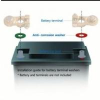 Car Battery Terminal Post Anti-corosion Washer Pads x 1set
