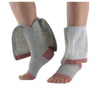 Open Toe Knee Length Zipper Compression Stockings Women Slim Sleeping Beauty Leg-Support Medical Prevent Varicose Veins