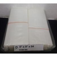 PE Plastic Bag / 5 x 9 inch Clear PE 04 (0.04mm) Plastic Bag / Thin PE Bag / Jenis Nipis / Pembungkus Buah, Kerepek